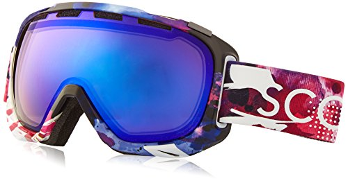 Scott US Fix Ski Goggles, Tiedye Multicolor, Red Chrome Lens