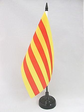 AZ FLAG Bandera de Mesa de CATALUÑA 21x14cm - BANDERINA de ...