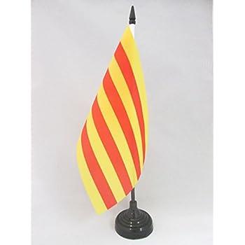 Amazon.com: AZ FLAG Cataluña ESTELADA BLAVA Bandera de mesa ...