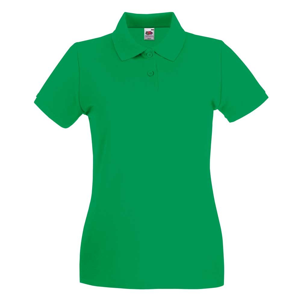 Fruit of the Loom Lady Fit Premium Colours Short Sleeve Cotton ...