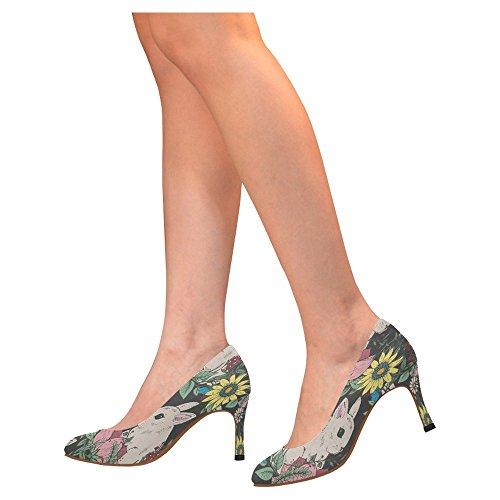Scarpe Da Donna Con Il Classico Abito Classico Con Tacco Alto, Scarpe Da Donna Multiuso 5