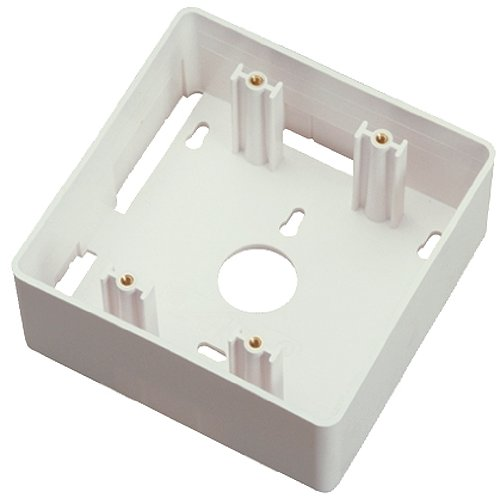 Allen Tel Products AT45MB-15 1 Port, Mounting Screw Versatap Double Gang Surface Mounting Box, White