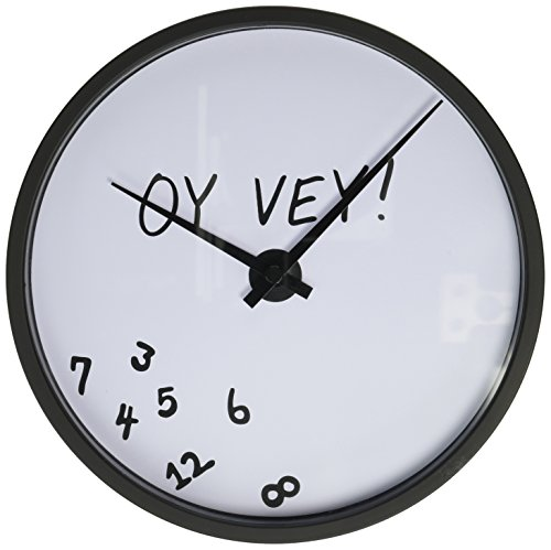 Funny Battery Operated Round Clock Inches