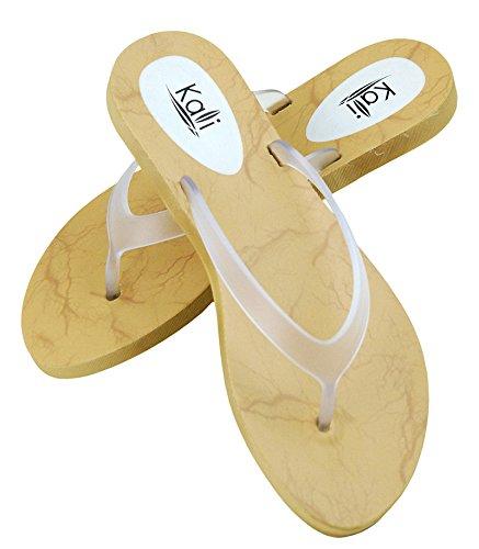 Flip Water Color Plus Sandals Summer Women Big Beach Clear Wide Plastic Jelly Flops Girls gtYnw6xqvS