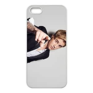 Justin Bieber iPhone 5 5s Cell Phone Case White Phone cover O7503344