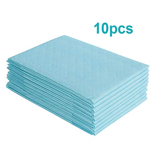 "Carejoy 10PCS Disposable Underpad,23"" x 35"" Portable Breathable Absorbent Diaper Nursing Pad Adult, Baby by Carejoy"