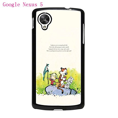 Cartoon Anime Series Calvin And Hobbes For Google Nexus 5 ...