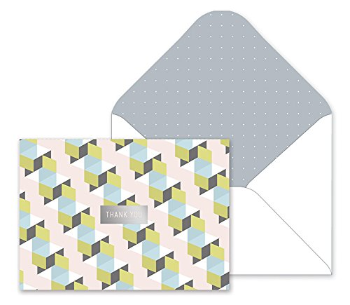 Fringe Studio Boxed Thank You Notes - Cubicle Row by Fringe (Image #1)