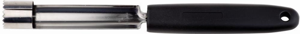 APS Apfelentkerner ca. Durchmesser 1,6 cm, Länge 18,5 cm Edelstahl mit geschärftem Rand zum Entfernen des Kerngehäuses Griff aus Nylon/Fiberglas