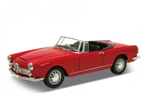 1960-alfa-romeo-spider-2600-convertible-red-1-24-by-welly-24003cw