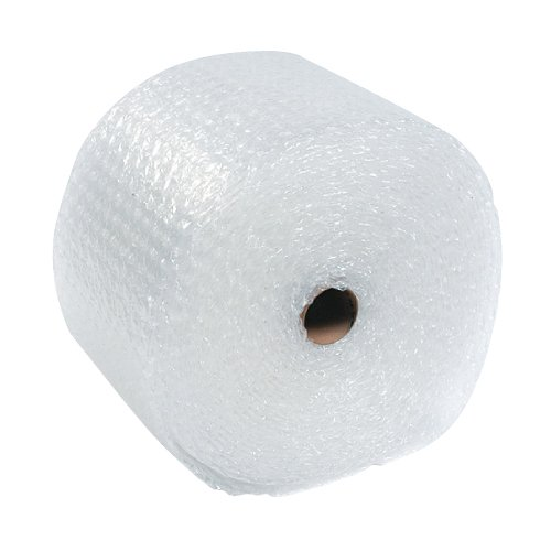 The Packaging Wholesalers 5/16 X 48 Inches x 188-Feet Slit 12-Inch Retail Length Medium Bubble (4 Rolls/Bundle) (CBWUP516S12)