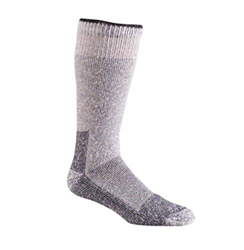 2-Pack of Fox River Wool Work Mid-Calf Boot Sock, Grey, Large (River Wool Socks Fox)