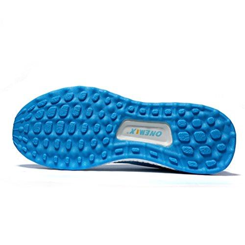 Yidiar Performance Womens Athletic Training Trail Scarpe Da Corsa Outdoor Walking Jogging Sneakers Sportive Light Blue / White