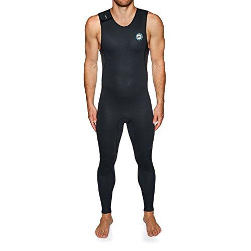 Prolimit 1.5mm Airmax SUP Velcro Long John Wetsuit Large Black/blue by Pro Limit