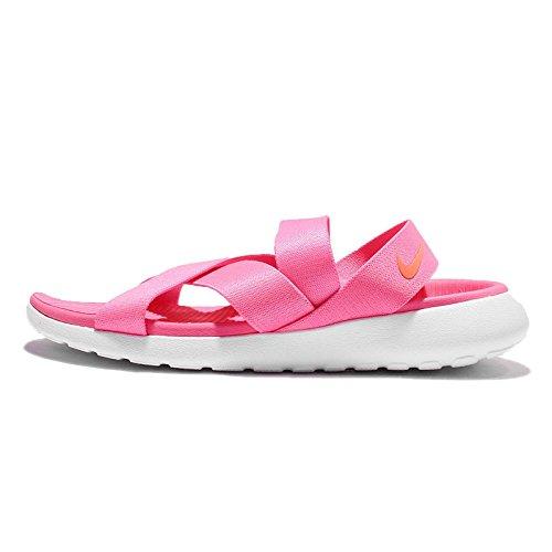 Nike Vrouwen Wmns Roshe Één Sandaal, Roze Blast / Totaal Karmozijn-wit Roze Blast / Totaal Karmozijn-wit