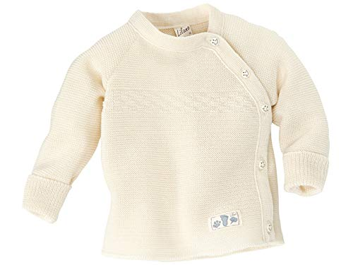 (Lilano 100% Organic Merino Wool Baby Knitted Sweater [776216]. Made in Germany. (74/80 (6-12 Months),)