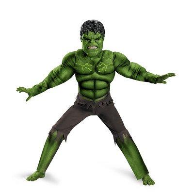 Hulk Avengers Muscle Light Up Costume Size: 4-6 (Hulk Costumes For Kids)