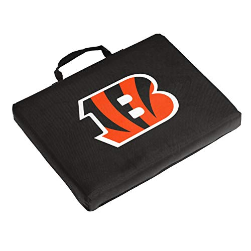 Logo Brands NFL Cincinnati Bengals Bleacher Cushion, One Size, Black