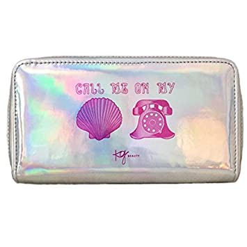 6af1ce9731bf Holographic Mermaid Makeup Bag Toiletry Travel Bag Organizer
