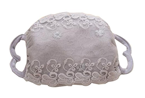 dolly2u Exquisite Breathable Lace Floral Mask Cold-proof Mask Facial Masks-06