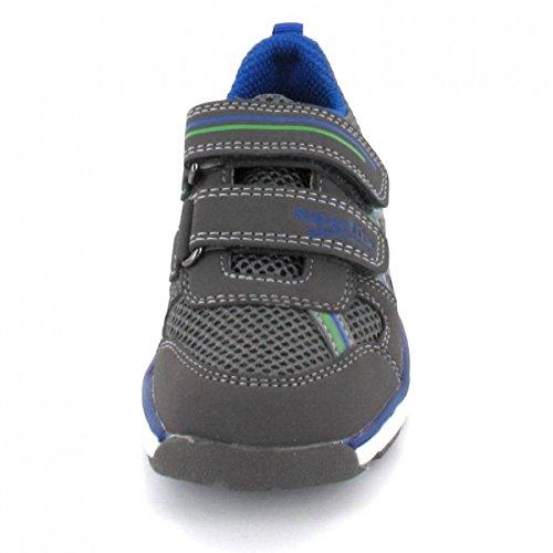 Superfit 6-00410-06 Lumis - Zapatillas de Material Sintético para niño Gris - Mittelgrau