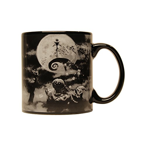 Disney NB3334 Nightmare Before Christmas Boogeyman Jumbo Ceramic Mug, 20-Ounces, Multicolor]()