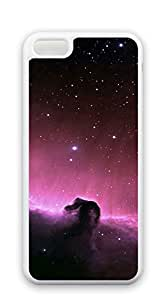 TUTU158600 Custom Cover Case with Hard Shell Protection for iphone 5c Shell - Star Universe clouds