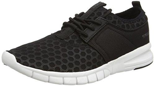 Salinas Gola Course Chaussures Noir De Blanc Hommes noir v48wwqTFn