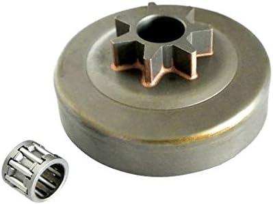 JRL - Juego de rueda dentada y rodamiento para HUSQVARNA 41 136 137 141 142