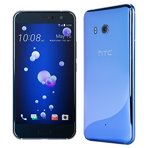 HTC U11 with hands-free Amazon Alexa – Factory Unlocked – Amazing Silver...