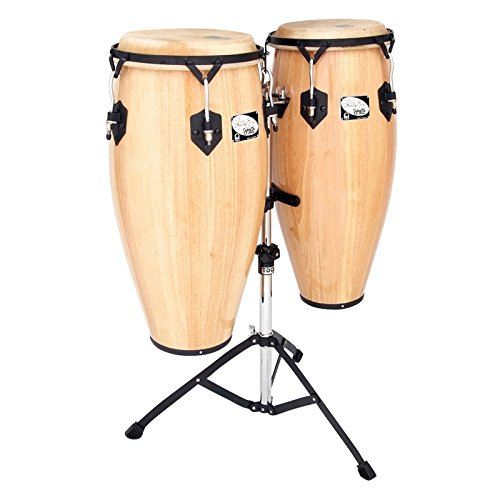 Toca Sheila E. Player's Series Wood Congas 10 and 11 Inches, 2800-SEN by Toca