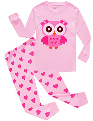 Dolphin&Fish Girls Christmas Pajamas Kids Pjs Toddler Sleepwear Clothes