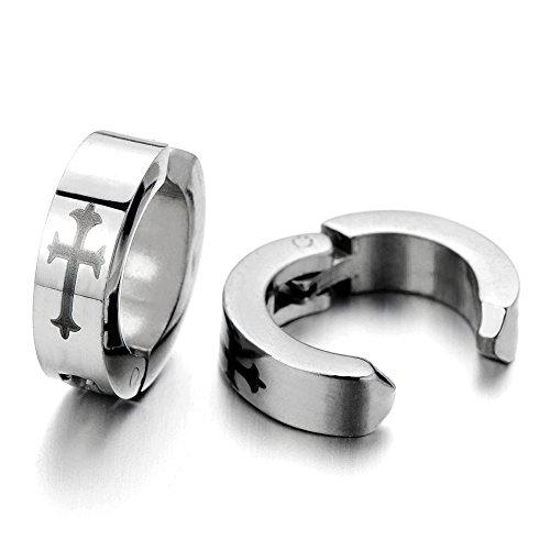 Huggie Hinged Earrings Non piercing Unisex