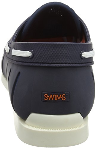 SWIMS Men's Boat Loafers, Navy/White, 7 D(M) US by SWIMS (Image #2)