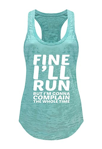 Tough Cookie's Women's Fine I'll Run Burnout Tank Top (X-Large - LF, ()