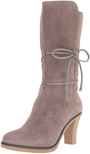 Johnston & Murphy Womens Jeannie Wrap Bootie Boot Grigio