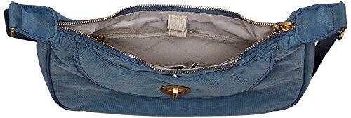 International Baggallini Shoulder Blue Hobo Black Oslo Bag Gold Slate Small PPqw1x