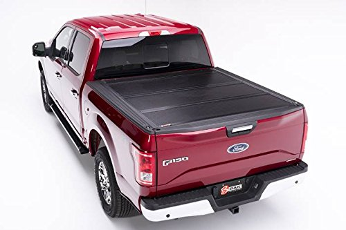 BAK Industries 72311 F1 BakFlip Tonneau Cover for Ford Super Duty Standard/Extended/Crew Cab 96.25