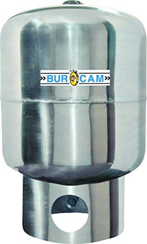 BURCAM 600545SS Upright 20 gallon Pressure Water Tank, St...