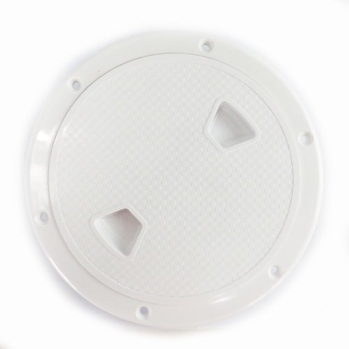 SEAFLO 6'' Boat Round Non Slip Inspection Hatch w/ Detachable Cover by Seaflo