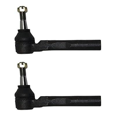Front Driver and Passenger Side Outer Tie Rod Ends fits 2004-2010 Chevrolet Malibu - [2005-2010 Pontiac G6] - 2007-2009 Saturn Aura: Automotive