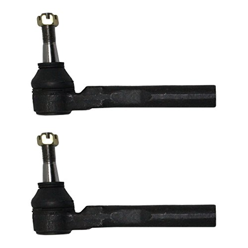 Tie Rod End Grease - Front Driver and Passenger Side Outer Tie Rod Ends fits Malibu Aura G6