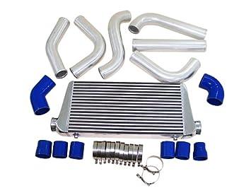 Intercooler de montaje frontal para Mustang Turbo Supercharger nuevo: Amazon.es: Coche y moto