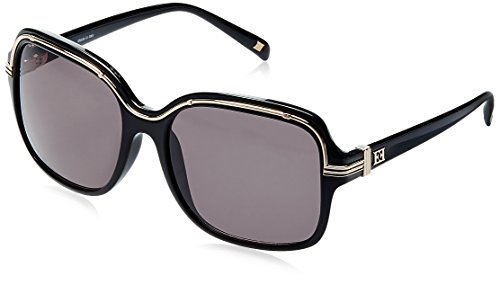Escada Oversized Sunglass (Black) (SES-163-Z42)