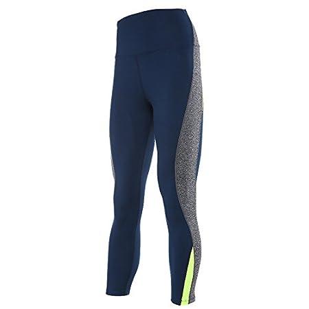 HANLILI Donna High Waist Yoga Pantaloni Skinny in Esecuzione Collant Danza Slim Pantaloni Traspiranti Jogging Formazione Leggings