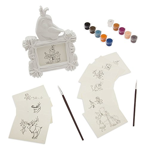 Disney Olaf's Frozen Adventure Picture Frame Paint (Frozen Photo Frame)