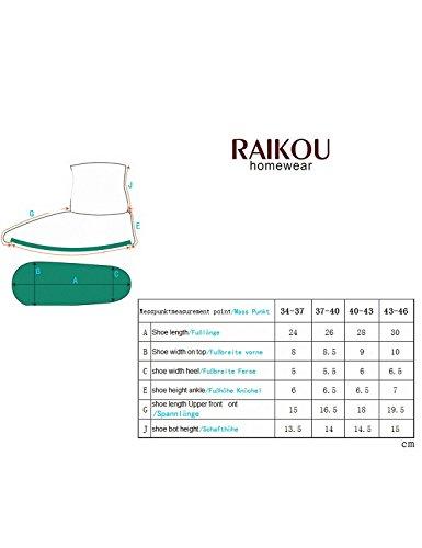 Raikou - Zapatillas de estar por casa para mujer Marrón - marr�n oscuro