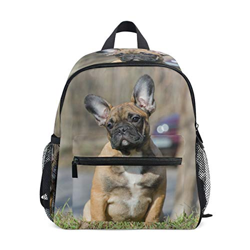French Bulldog Funny Puppy Animal Cute Backpack for