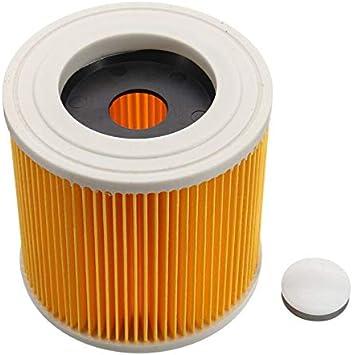 Filtro de Cartucho Compatible con Aspiradora Kärcher en Seco y Húmedo WD2 WD3 Series A Series Poweka Reemplaza # KAR64145520: Amazon.es: Bricolaje y herramientas