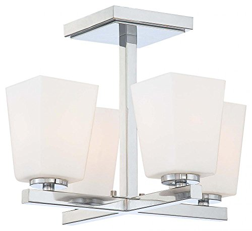Minka Lavery 1542-77 Four Light Semi Flush Mount Review